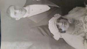 Mom n pop wed ding picture