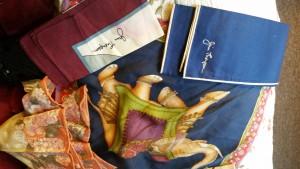 Jim Thompson scarves